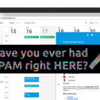 How to stop Google Calendar spam